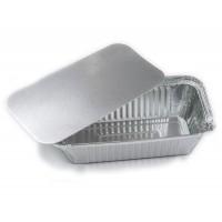 Форма алюминиевая прямоугольная с крышкой 219х127/187х95 h-33мм 620мл