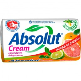 АБСОЛЮТ мыло туалетное 90г грейпфрут и бергамот
