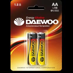 DAEWOO Батарейки алкалиновые AA LR6 2шт