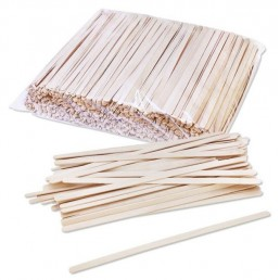 ФИЕСТА Палочки деревянные для размешивания 190мм 1000шт