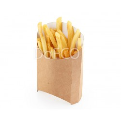 DO ECO Упаковка для картофеля фри ECO FRY M 105x50x110мм Крафт