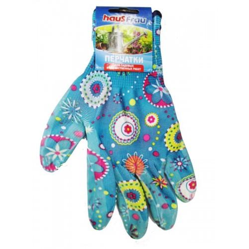 HAUS FRAU Перчатки трикотажные из нейлона 1пара