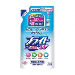 LION Bright жидкий кислородный отбеливатель для цветного 480мл