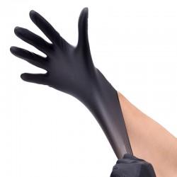 HOUSEHOLD GLOVES Перчатки нитриловые 100шт L Черные