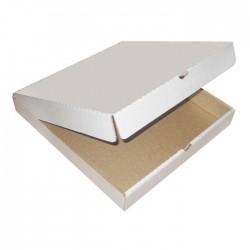 Короб для пиццы 33х33см Белая