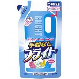 BRIGHT Гель-отбеливатель кислородный 720мл Для белого и цветного белья