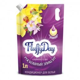 FLUFFY DAY Кондиционер для белья 1л Роскошный эликсир