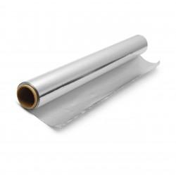 ИНТРОПЛАСТИК Фольга пищевая алюминиевая Эконом 45см х 80м