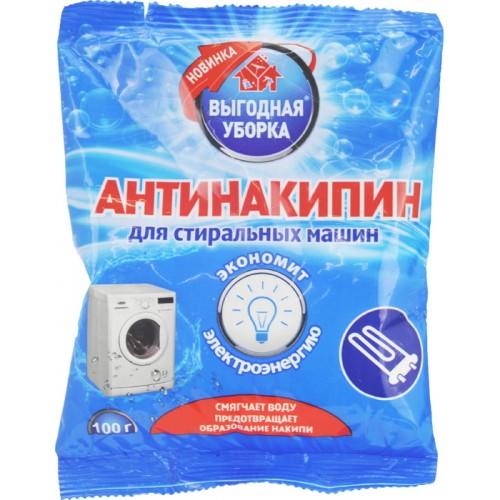 ВЫГОДНАЯ УБОРКА Антинакипин для стиральных машин 100г