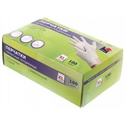 АДМ перчатки латексные 100шт XL