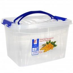 МИЛИХ контейнер прямоугольный пластик 12л