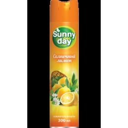 SUNNY DAY Освежитель воздуха 300мл Солнечный лимон