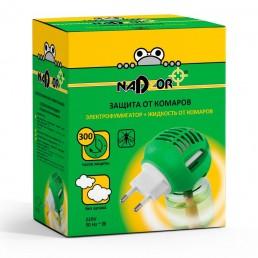 НАДЗОР Электрофумигатор + жидкость от комаров