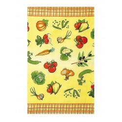 Вафельное полотенце 45х75см С печатью