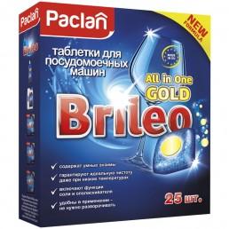 БРИЛЕО Таблетки для посудомоечных машин 25шт