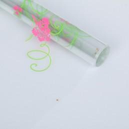 Пленка 700мм 200гр Цветочек розовый