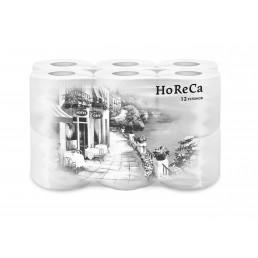 HORECA Туалетная бумага 2сл 12рул