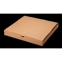 Короб для пиццы 35х35см Бурая
