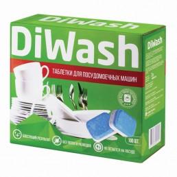 DIWASH Таблетки для посудомоечных машин 100шт