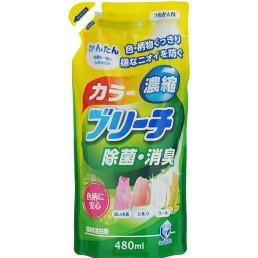 Color Bleach кислородный отбеливатель на гелевой основе для цветного белья 480мл