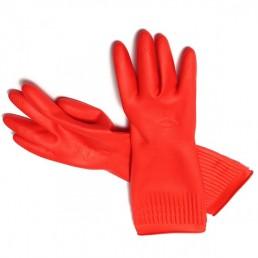 Перчатки хоз. латекс. 1пара XL красные