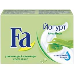 FA Мыло туалетное 90г Йогурт Алоэ Вера