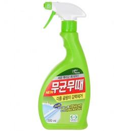 BISOL Чистящее средство для ванной от плесени 500мл Аромат трав