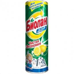 БИОЛАН Чистящий порошок 400г Сочный лимон