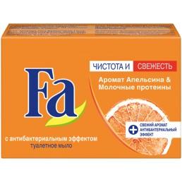 FA Мыло туалетное 90г Аромат Апельсина и Молочный протеин