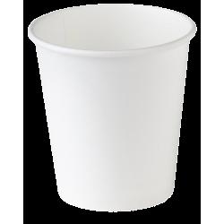 Стакан бумажный одноразовый 185мл д-73мм 60шт Белый