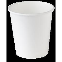 Стакан бумажный одноразовый 180мл д-73мм 60шт Белый