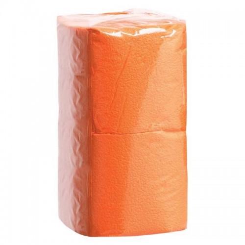АСТОРИЯ/ДИВА Салфетки бумажные 24х24см 400л Интенсив, Оранжевые