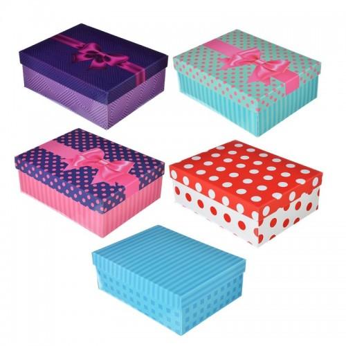 Коробка подарочная складная 21х16х7,5см арт. 207-025