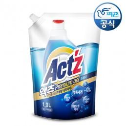 ACTZ PREMIUM GEL Концентрированный гель для стирки белья 1л Мята