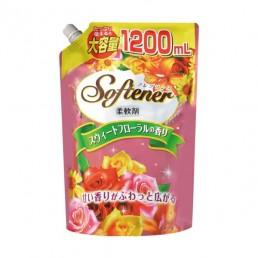 SOFTENER PREMIUM ROSE Кондиционер для белья 1200мл Цветочный аромат