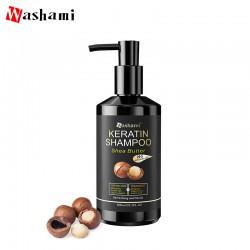 WASHAMI Шампунь для волос 500мл Масло Ши и кератины