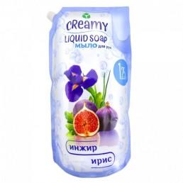 CREAMY Жидкое мыло для рук 1,25л Инжир и ирис