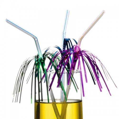 Трубочки для напитков Фейверк 50шт