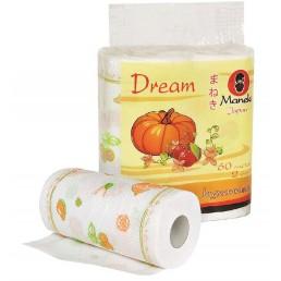 MANEKI DREAM Полотенца бумажные 2сл 60л 2рул