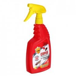 БДИТЕЛЬНЫЙ СТРАЖ Спрей универсальный от тараканов и клопов 750мл С запахом лимона
