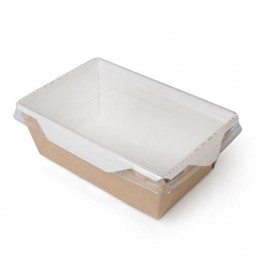 DO ECO Салатник с прозрачной крышкой ECO OPSALAD 450 145x100x55мм