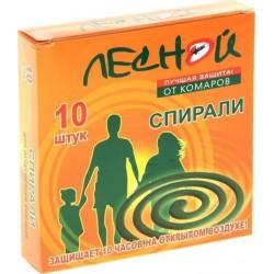 ЛЕСНОЙ Спирали от комаров 10шт