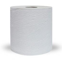 ПЛЮШ Полотенца бумажные с центральной вытяжкой 1сл 200м Серые