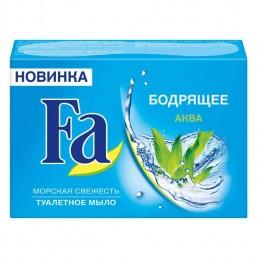 FA Мыло туалетное 90г Бодрящее Аква