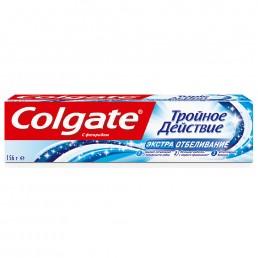 КОЛГЕЙТ Зубная паста 100мл Тройное действие. Экстра отбеливание