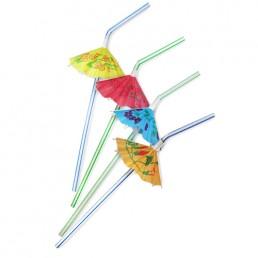Трубочки для напитков Зонтик 50шт