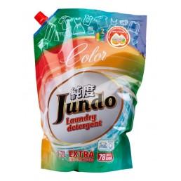 JUNDO Концентрированный гель для стирки 1,2л Для цветного белья (Запасной блок)
