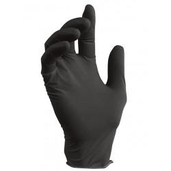 NITRILE Перчатки нитриловые 100шт L Черные