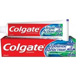 КОЛГЕЙТ Зубная паста 50мл Тройное Действие, Натуральная мята
