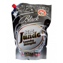 JUNDO Концентрированный гель для стирки 1,2л Для черного белья (Запасной блок)